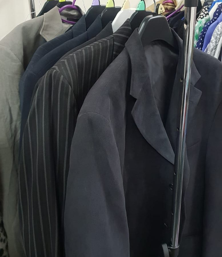 Male Winter Jackets available for Swap