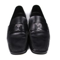 Black Leather Shoes Size 9